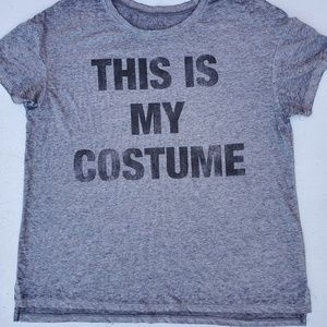 """NEW LOL Vintage """"This My Costume """" Tee T-Shirt"""